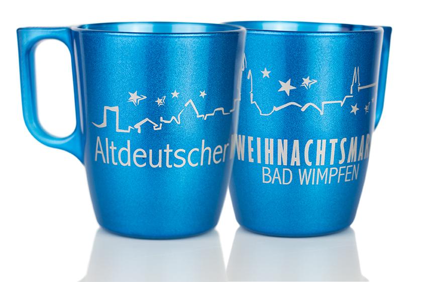 Weihnachtsmarkt Tasse Bad Wimpfen 2016
